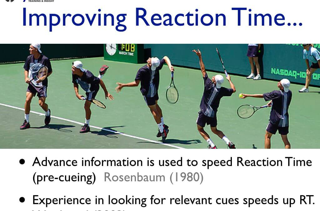 Improving Reaction Time in PMVA Training
