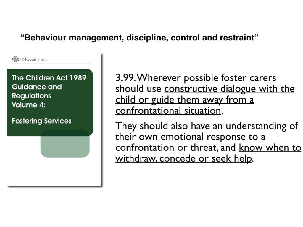 Different concepts of challenging behaviour