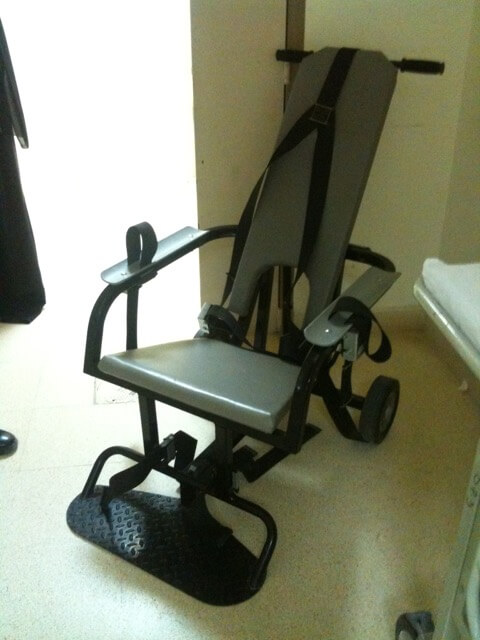 Throwback Thursday:  Restraint Chair in Oman