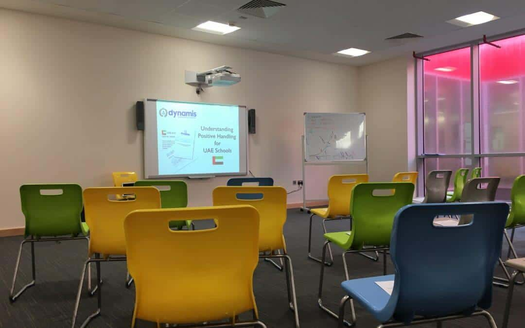 More than 15 Schools in UAE introduced to Dynamis Positive Handling